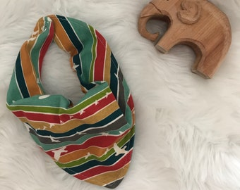 Bandana bib for infant or toddlers