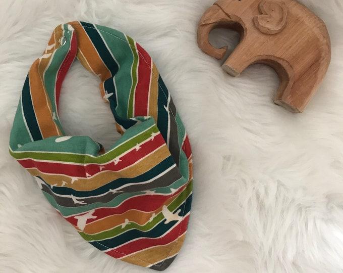 Bandana bib for infant or toddlers
