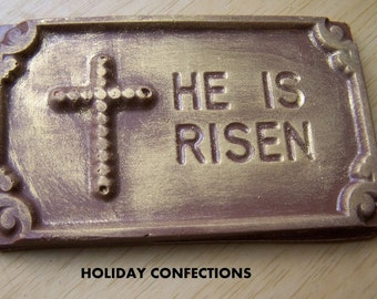 Chocolate plaque -  Religious Candy - Religious Chocolate