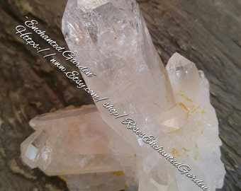 Beautiful Clear Quartz Cluster