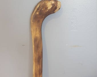 Walking Cane Carving Whittle Wood Home & Hobby Crafts