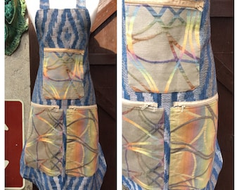 Apron water weave