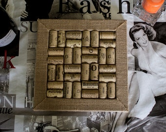 Cork table mat