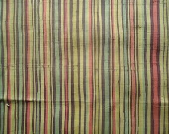 Kimono Silk Striped Tsumugi