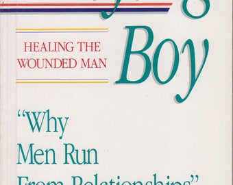 The Flying Boy: Healing the Wounded Man (Softcover, Self-Help, Relationships)  1989