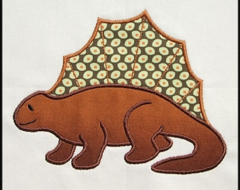 INSTANT DOWNLOAD Spinosaurus Applique and Fill designs