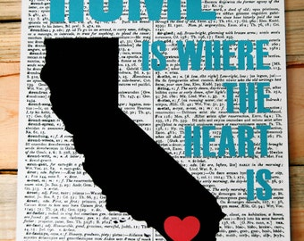 San Diego Home Dictionary Print