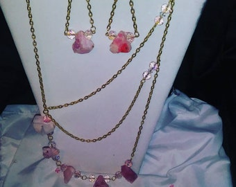 Pink rocks Rock