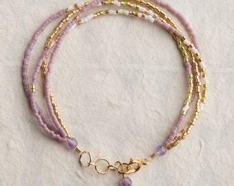 Lavender Fields Bracelet