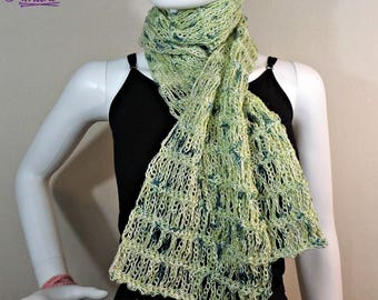 Unchained Scarf - Crochet Scarf PATTERN PDF ONLY
