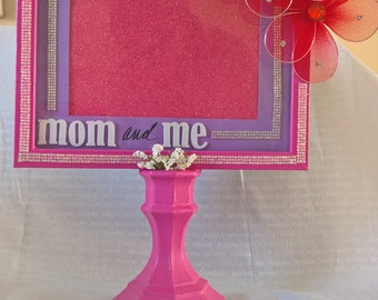 Pedestal Picture Frame - Mom and Me