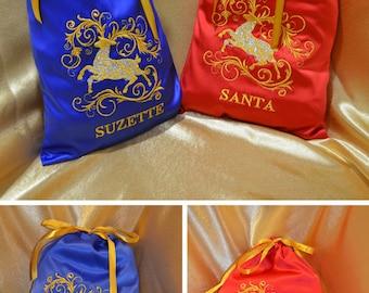 Personalized Christmas gift bag,Christmas 2018 gifts,Personalized gift Christmas Bag Christmas gift idea Gift for kids holiday, Black friday
