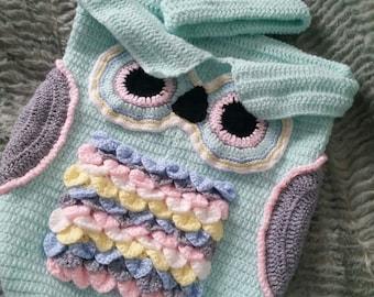Owl cocoon set