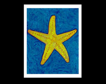 Starfish Print, Starfish Art, Beach Decor, Ocean Wall Art, Beach House Decor, Beach Wall Art, Starfish, Starfish Decor, Starfish Wall Art