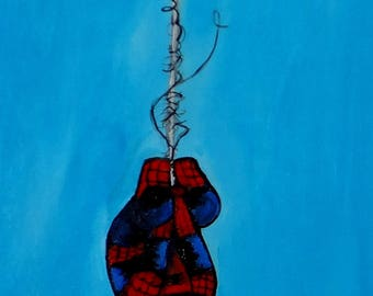 L'il Webcrawler painting quadri fumetti dipinti peinture