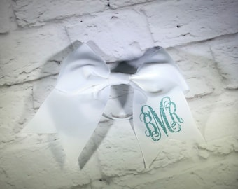 Personalized Large Hair Bow. Cheer Bow. Glitter Bow. Team Hair Bow. Custom Hair Bow. Monogrammed Hair Bow. Little Girls Big Hair Bow