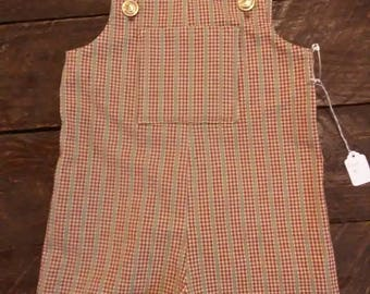 Toddler short overalls