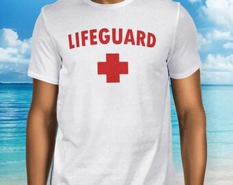 LIFEGUARD Shirt, T-Shirt, tshirt, Tee, Full Color T shirts, Lifeguard shirts, lifeguard gift, gift ideas