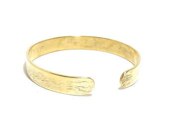 Brass Bracelet, Cuff, Women, Men, Ready To Ship, Metalwork, Bangle BLB 65,