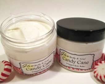 Candy Cane Body Butter Paraben Free Body Butter Lotion