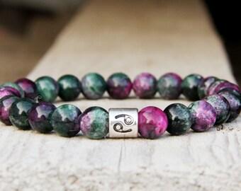 Cancer jewelry Cancer bracelet Cancer Sign Zodiac jewelry Zodiac bracelet Astrology jewelry  Astrology bracelet Horoscope jewelry energy