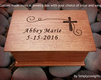 christening music box, baptism music box, personalized christening gift, personalized baptism gift, personalized baptism gift, jewelry box