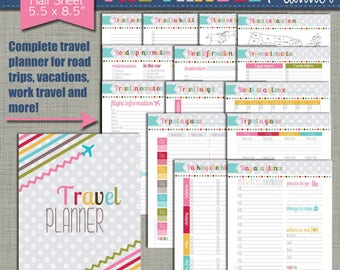 Agile image inside vacation planning printable