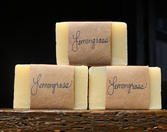 Lemongrass Soap, 4 oz.