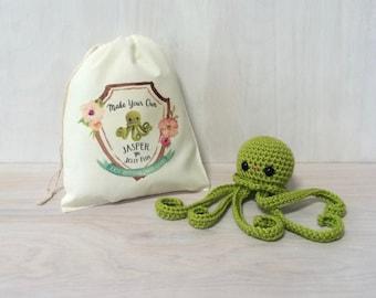 Jasper the Jellyfish DIY Crochet Kit