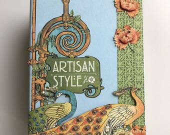 Artisan Style photo album display book with interactive pages