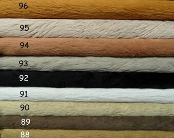 Vous choisissez propres 4 couleurs de viscose SCHULTE, pile 6 mm, 4 x 30cm / 35cm = ± 12/14 pouces.