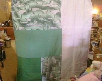 Spring Green Mix Full Blanket