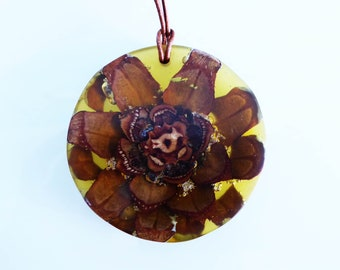 Beautiful jewellery pendant from nature