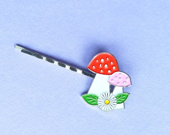 Fairy Toadstool Bobby Pin by Fairytale Collars