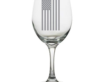 American Flag, Drink Me, wine, Kitchen Dining, Home Living, Laser Engraved, Etched, Drink Barware, wedding, anniversary, Wine, gifts,