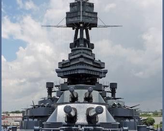 Battleship Texas 8X10 Print