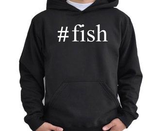 Fish Hashtag Hoodie P2lQIf3