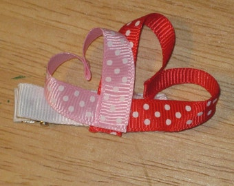 Heart shaped Valentine's Day clips
