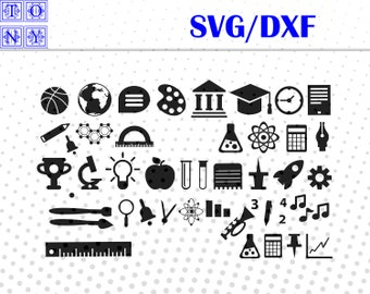 School  svg,dxf/School clipart