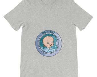 I'm a boy washing machine soon to be mother t-shirt