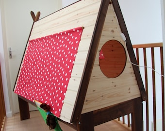 Tentbed for adventurous toddlers