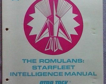 THE ROMULANS: Starfleet Intelligence Manual United Federation of Planets Star Trek The Role Playing Game