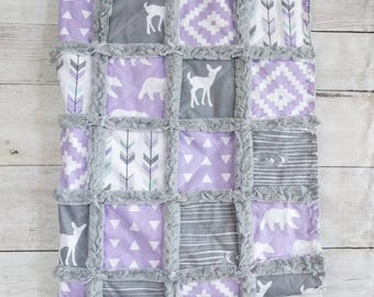 Lilac Woodland Quilt