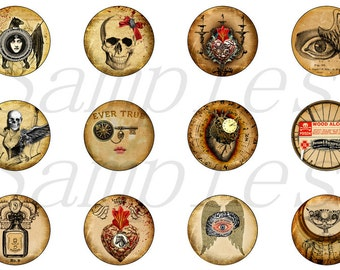 Gothic Magnets Pins Party Favors Wedding Gift Sets Refrigerator Magnets Cabochons