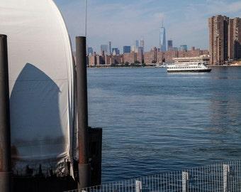 New York Print, Fine Art Prints, Queens NY, New York City, Long Island Wall Art, Giclee Art Print, Deborah Julian