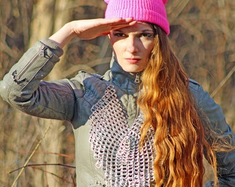 Hot Pink Pussy Hat! Cat Kitten Ear Hat Mother's  Day Gift Women's Rights March on Washington Protest Resist Trump Anti War