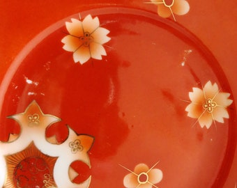 1950s Boho Decorative Plate