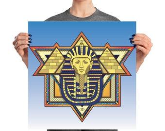 Third Eye Pharaoh Poster