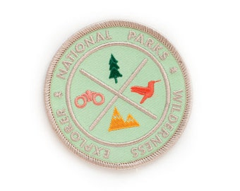 National Park Explorers Patch