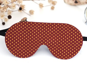Cute eye sleep mask for women grass sleep mask red gifts for travelers travel sleep mask eye cover cotton mask